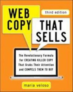 Web Copy that Sells by Maria Veloso Book Cover
